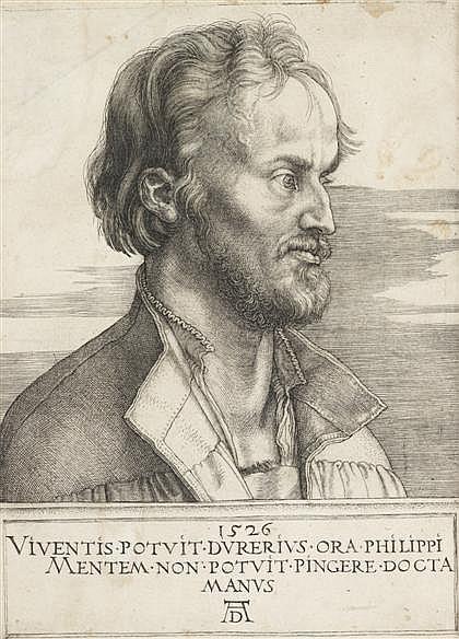 ALBRECHT DÜRER, (GERMAN 1471-1528), PHILIP MELANCHTHON