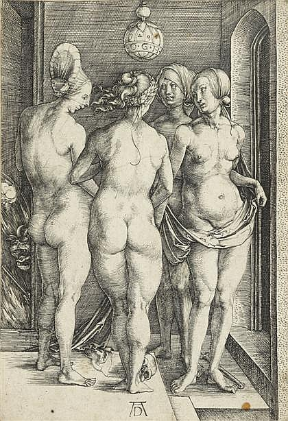 ALBRECHT DÜRER, (GERMAN 1471-1528), FOUR NAKED WOMEN