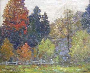 ROBERT HENRY LINDSAY (Canadian 1868-1938)  AUTUMN