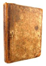 1 vol. American Engraved Sheet Music Album, ca 1815-1830. Folio, contemp calf-backed bds; rubbed. Holding approx 80 pieces...
