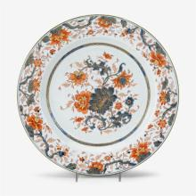 Chinese export porcelain Imari charger, late 18th century