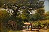 JOHN EVERETT MILLAIS, (BRITISH 1829-1896), LANDSCAPE AND FIGURES
