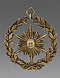 Silver gilt District Deputy Grand Master's Masonic medal or