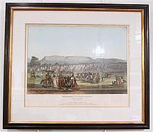 1 piece. [McKenny, Thomas; Hall, James.] Hand-Colored Lithograph.