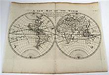 1 piece. [Harris, John.] Engraved Map.