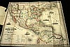 1 piece. Ensig, Bridgeman & Fanning, pub. Hand-Colored Fold Lithographic Map.