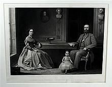 1 piece. (Civil War.) Sartain, William. Mezzotint Engraving.