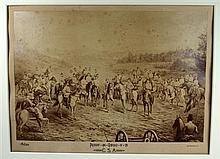 1 piece. (Civil War.) Collotype Print.