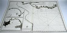 1 piece. Bellin, Jacques. Engraved Map.