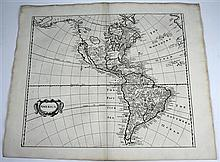 4 pieces.  [Heylyn, Peter.] Engraved Maps.  [Cosmographie.] [London, 1703.]