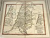 6 pieces. The Holy Land - Hand-Colored Engraved Maps:  F[uller], T[homas]. [