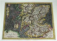 5 pieces. British Isles - Engraved Maps: Mercator, Gerard. [Duisberg, ca 1602.] 14 x 18 3/8 in; 355 x 465 mm, margins. Gen...