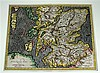 5 pieces. British Isles - Engraved Maps: Mercator, Gerard. [Duisberg, ca 1602.] 14 x 18 3/8 in; 355 x 465 mm, margins. Gen...
