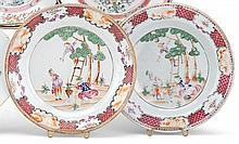 Pair of Chinese export porcelain