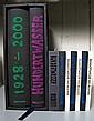 9 vols.  Hundertwasser Illus. Books: New Zealand. Two copies of the preceding. New York. Two copies of the preceding. Germany: Gruen...