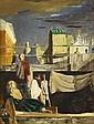 WALTER STUEMPFIG, (AMERICAN 1914-1970), UNDER THE BOARDWALK