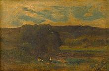GEORGE INNESS, (AMERICAN 1825-1894),