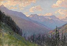 WALTER LAUNT PALMER, (AMERICAN 1854-1932), CANADIAN ROCKIES