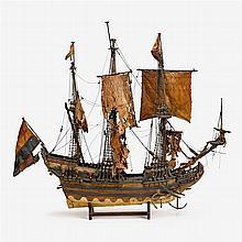 Rare Dutch ship model of the whaler