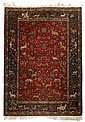 Mashad rug, northeast persia, circa 2nd quarter 20th century,
