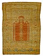 Tabriz prayer rug, northwest persia, circa 1900,
