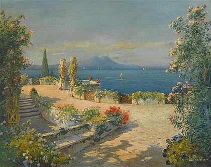 LUIGI PAOLILLO, (ITALIAN 1864-1934), NEOPOLITAN VIEW