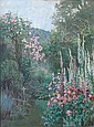 ANNA W. MASSEY LEA MERRITT, (AMERICAN 1844-1930), SUMMER GARDEN