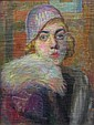 JOSEPH SACKS, (AMERICAN 1887-1973), SHOW GIRL, Joseph Sachs, Click for value