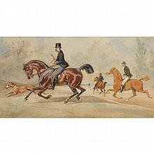 HORACE VERNET, (FRENCH 1789-1863), FULL GALLOP