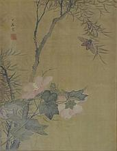 XIAOSHI, UNDATED, 19TH / 20TH CENTURY, Circada and flowers