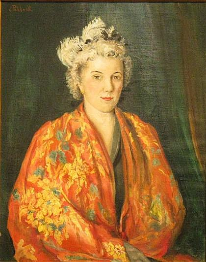 JOSEPHINE PADDOCK, (AMERICAN, 1885-1964),