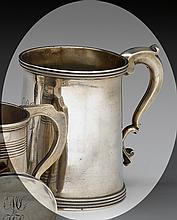Silver cann, edward lownes (1792-1834), philadelphia, pa, dated to underside,