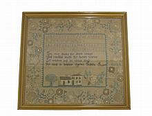 Needlework sampler,
