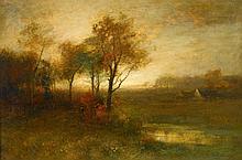 JOHN FRANCIS MURPHY, (AMERICAN 1853-1921),