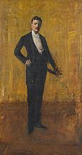WILLIAM MERRITT CHASE, (AMERICAN 1849-1916), COLBERT HUNTINGTON GREER