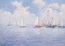 EDWARD STRATTON HOLLOWAY, (AMERICAN 1859-1939),
