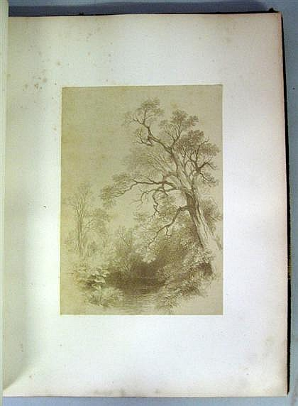 1 vol.  [Early Photography] Ehninger, John W.  Autograph Etchings by American Artists. New York: W. A. Townsend, 1859. Sm...