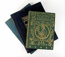 3 vols (1 wrapper). Illustrated Books: (Dulac, Edmund, illus.) (Arabian Nights.) Sinbad le Marin et d'autres contes....