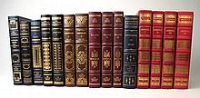 Lot. Franklin Library Leather-Bound & Richly Gilt Titles: