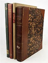 4 vols. Architecture - British & American:  Weall, John, ed. Quarterly Papers on Architecture. London, 1845. Vol 4...