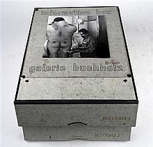 Lot. Botero, Fernando. Information Box. Galerie Buchholz, 1970.  #26/60, signed by Botero on cover of 1 box, with ori...