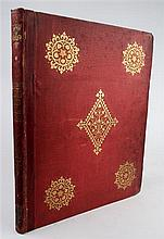 1 vol. Pugin, Augustus Welby. Floriated Ornament. London: H.G. Bohn, 1849.  1st (& only) issue. Sm folio, contemp gil...