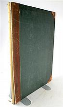 1 vol. Richardson, Charles James. Studies of Ornamental Design. [London, 1851.]  Folio, contemp calf & cloth; spine g...