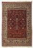 Isphahan carpet, central persia, circa 1960,