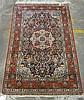 Chinese silk rug, circa 2nd half 20th century,