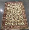 Qum rug, central persia, circa mid 20th century,