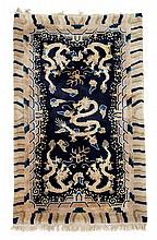 Ningxia rug, west china, circa 1900,