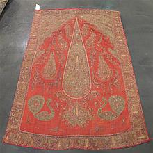 Rescht embroidery, southeast persia, circa 2nd quarter 19th century,