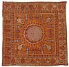 Rescht embroidery, southeast persia, circa 19th century,