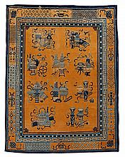 Peking rug, circa 1920, Note: carpet is reduced